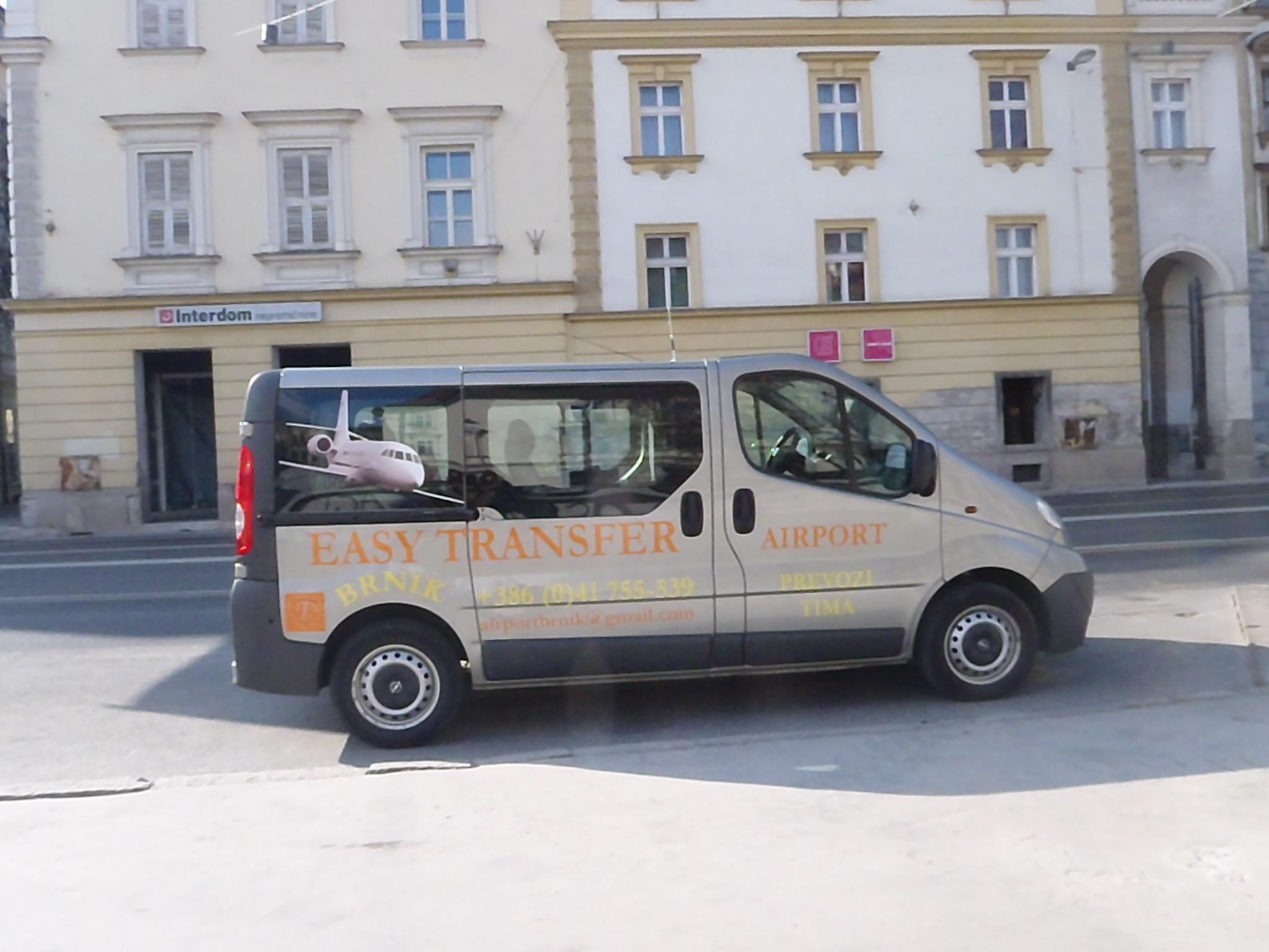 Taxi Ljubljana Kombi Taxi Brnik